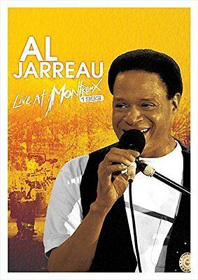 NEW AL JARREAU - LIVE AT MONTREUX 1993 DVD+CD