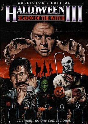 Halloween 3 New Edit (HALLOWEEN III 3 SEASON OF THE WITCH New Sealed DVD Collector's)