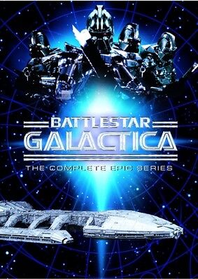 Battlestar Galactica Complete Epic Series Sealed New 10 Dvd Set 1978