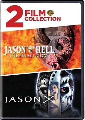 Friday the 13th 2 Film Collection Jason Goes to Hell Jason X DVD Horror Set - Jason Horror Films