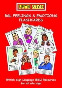 Let's Sign BSL Feelings & Emotions Flashcards by Smith, Cath   Cards Book   9781