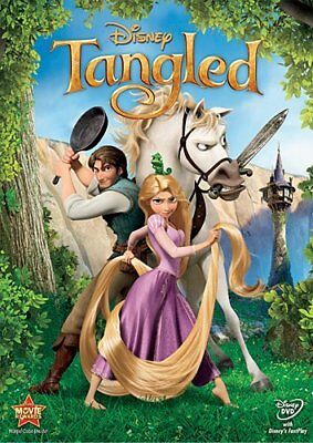 Tangled (DVD, 2011) w/slipcover New Free Shipping