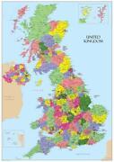 Large UK Map