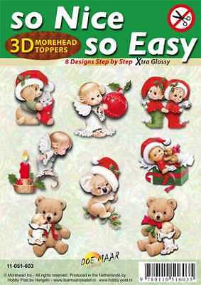MOREHEAD-3D Toppers -so Nice - so Easy-8 gestanzte Motive - 603