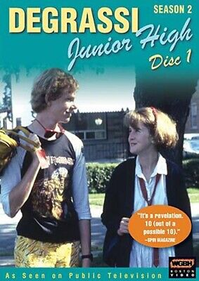 Degrassi Menor Alta - Temporada 2 , Disco 1 Nuevo DVD