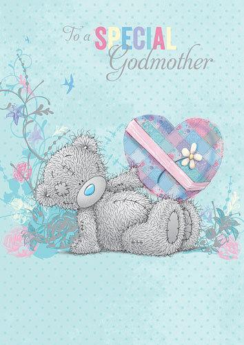Godmother Birthday Card Ebay