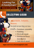 Looking for a handyman give us a call today! We are here to help