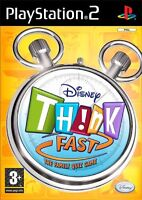 new Disney Think Fast Bundle 4 Controllers PS2 PLAYSTATION jeu