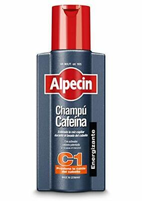 Alpecin Champú Cafeína C1, 1 x 250 ml - Champú anticaída -...