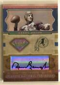 Sammy Baugh Autograph