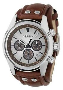 89f35350868e9 Brown Leather Cuff Watches