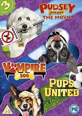 Dogs Triple (Pups United/Vampire Dog/Pudsey The Dog Movie) [DVD][Region 2]](Vampire Puppy)