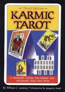 Karmic Tarot: A Profound System for Finding and Following Your Life's -ExLibrary