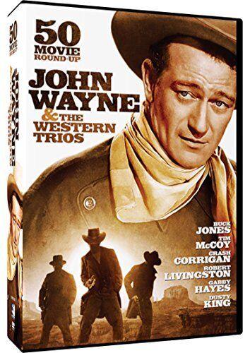 John Wayne & The Western Trios (dvd/50 Movies/10 Disc/side By Side Package)