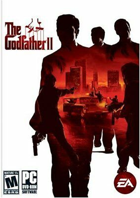 Computer Games - The Godfather II PC Games Windows 10 8 7 XP Computer god father 2 action NEW