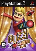 Buzz Mega Quiz PS2