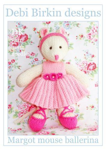 Mouse Knitting Pattern Ebay