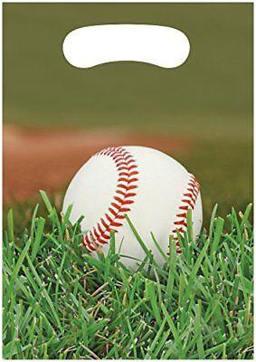 Baseball Birthday Party Supplies Treat Bags](Baseball Birthday Supplies)