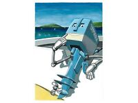 WANTED outboard motor engine Yamaha Suzuki Honda Mariner Mercury shortshaft 4 RIB short shaft £ fast