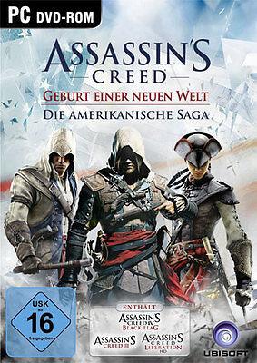 PC Spiel Assassins Creed Die amerikanische Saga 4 Black Flag Liberation HD III 3