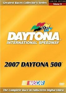 2007 DAYTONA 500 New Sealed DVD Complete Race NASCAR