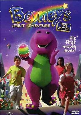 Barney's Great Adventure (2002, Region 0 Dvd New)