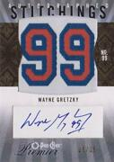 Wayne Gretzky Signed Card