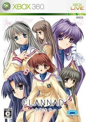 Used Xbox360 CLANNAD Japan Import Japanese Anime Video Game xbox 360