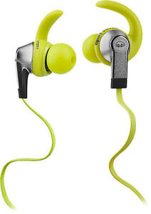 242801c935d Monster iSport Victory w/ Apple ControlTalk In-Ear Only Headphones - Green