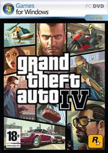 Grand Theft Auto IV  GTA 4 PC Game Brand New sealed