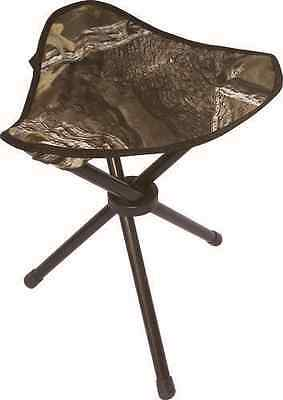 NEW Tri-Leg Camo Hunting Camp Hiking Stool Seat Carry Bag Folding Outdoor Chair