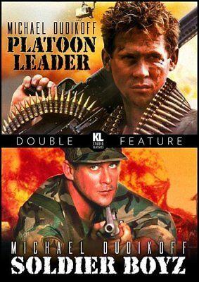 Platoon Leader / Soldier Boyz Michael Dudikoff Double Feature