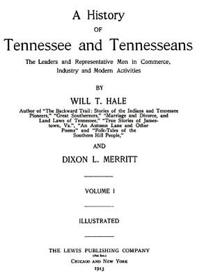 8 Vol Genealogy History of Tennessee & Tennesseans TN