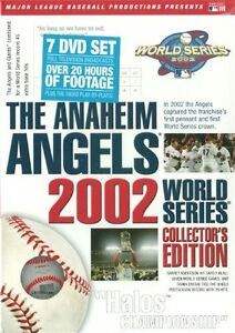 ANAHEIM ANGELS 2002 WORLD SERIES COLLECTOR'S ED New 7 DVD All 7 Games