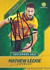 Autograph World Cup Australia Soccer Trading Cards