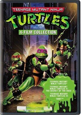 4 Film Favorites: Teenage Mutant Ninja Turtles Collection [New DVD] Full Frame](Ninja Turtle Family)