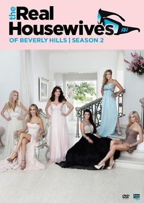 The Real Housewives Of Beverly Hills   Season 2  Dvd  2011  5 Disc Set