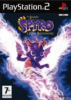 The Legend of Spyro A New Beginning (sans manuel) PS2 playstation 2 jeux 5305