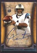 Cam Newton Autograph Football Card