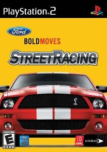 jeu game Ford Bold Moves Street Racing - SONY PlayStation 2 PS2