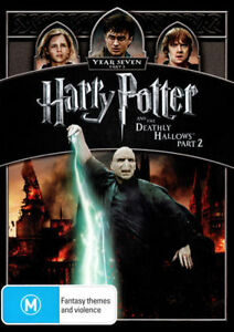 HARRY POTTER And The Deathly Hallows: Part 2 = NEW DVD TOP 250 MOVIES R4