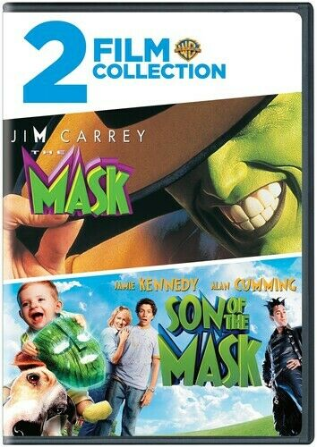 The Mask / Son Of The Mask [new Dvd] Widescreen