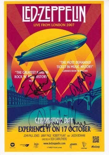 58328c2fa LED Zeppelin Signed | eBay