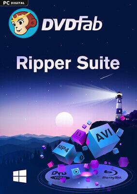 DVDFab Ripper Suite (DVD Ripper & Blu-ray Ripper) (24 Monate), Download, Windows