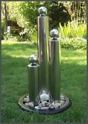 Edelstahl Brunnen