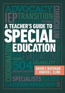A Teacher's Guide to Special Education by Bateman, David -Paperback