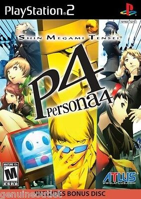 Shin Megami Tensei Persona 4 for PlayStation 2 Brand New Factory Sealed
