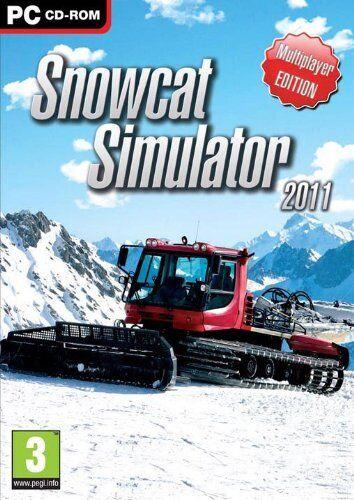 Snowcat Simulator 2011 (PC DVD) BRAND NEW SEALED