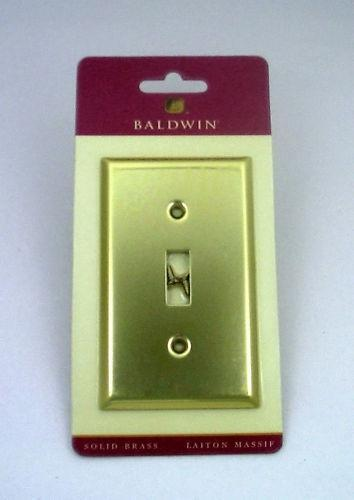 baldwin brass switch plate