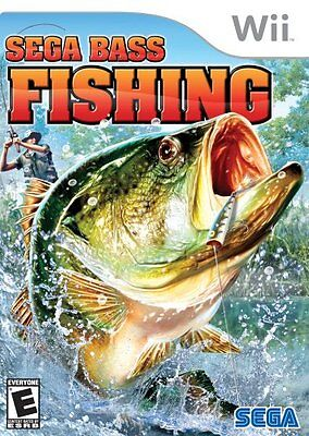 Sega Bass Fishing Nintendo Wii Sealed